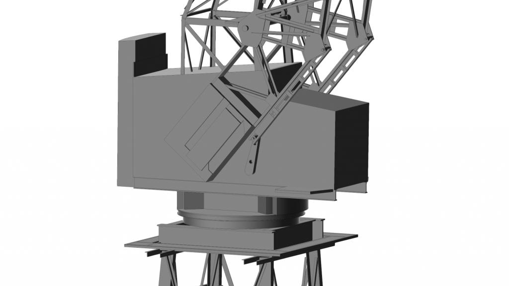 3D Crane BIM Model